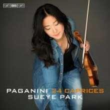 Niccolo Paganini (1782-1840): Capricen op.1 Nr.1-24 für Violine solo, Super Audio CD
