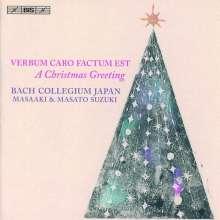 Bach Collegium Japan Chorus - Verbum Caro Factum Est, SACD
