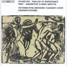 Alfred Schnittke (1934-1998): Psalms of Repentance (Bußpsalmen), Super Audio CD