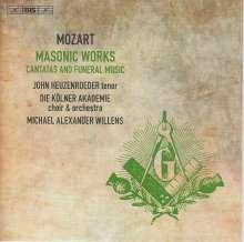 Wolfgang Amadeus Mozart (1756-1791): Freimaurermusik, Super Audio CD