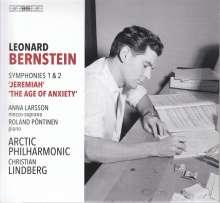 Leonard Bernstein (1918-1990): Symphonien Nr.1 & 2, Super Audio CD