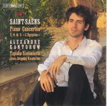Camille Saint-Saens (1835-1921): Klavierkonzerte Nr.3-5, SACD