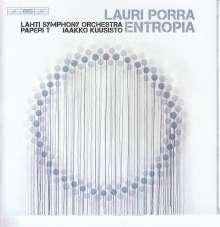 """Lauri Porra (geb. 1977): Konzert für elektrischen Bass """"Entropia"""", Super Audio CD"""