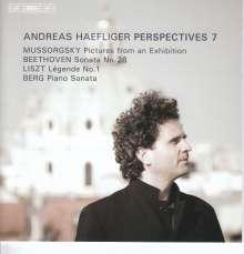 Andreas Haefliger - Perspectives 7, SACD