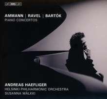 Andreas Haefliger - Amman / Ravel / Bartok, Super Audio CD