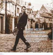 Alec Frank-Gemmill - Before Mozart, SACD