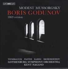 Modest Mussorgsky (1839-1881): Boris Godunow (Version 1869), 2 Super Audio CDs