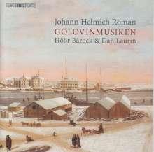 Johan Helmich Roman (1694-1758): Golovin-Musik (45 Sätze), SACD
