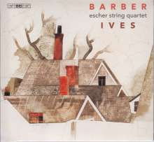 Charles Ives (1874-1954): Streichquartette Nr.1 & 2, Super Audio CD