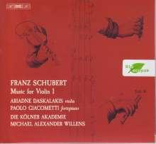 Franz Schubert (1797-1828): Werke mit Violine Vol.1, SACD