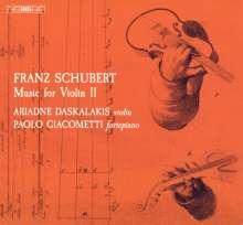 Franz Schubert (1797-1828): Werke mit Violine Vol.2, Super Audio CD