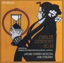 Gustav Mahler (1860-1911): Symphonie Nr.10 (Fassung für Kammerorchester von John Storgårds), SACD