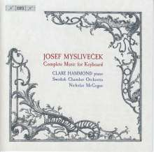 Josef Myslivecek (1737-1781): Klavierkonzerte Nr.1 & 2, Super Audio CD