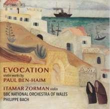 Paul Ben-Haim (1897-1984): Violinkonzert, SACD
