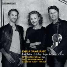 Kaija Saariaho (geb. 1952): Graal Theatre für Violine & Orchester, SACD