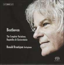 Ludwig van Beethoven (1770-1827): Sämtliche Variationen, Bagatellen & Clavierstücke, 6 Super Audio CDs