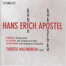 Hans-Erich Apostel (1901-1972): Klavierwerke, SACD