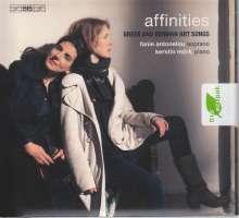 Fanie Antonelou & Kerstin Mörk - Affinities, SACD