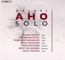 "Kalevi Aho (geb. 1949): Kammermusik ""Solo"", Super Audio CD"