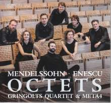 George Enescu (1881-1955): Streicheroktett op.7, Super Audio CD