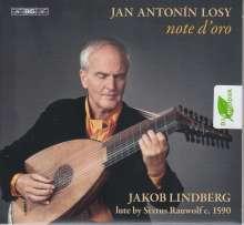 "Johann Anton Losy (1650-1721): Lautenwerke ""note d'oro"", SACD"