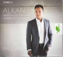 Charles Alkan (1813-1888): Konzert für Klavier solo, Super Audio CD