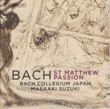 Johann Sebastian Bach (1685-1750): Matthäus-Passion BWV 244, 2 Super Audio CDs