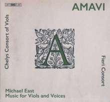 Michael East (1580-1648): Werke für Gamben & Stimmen, Super Audio CD