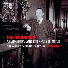 Sergej Rachmaninoff (1873-1943): Sämtliche Symphonien & Orchesterwerke, 4 Super Audio CDs