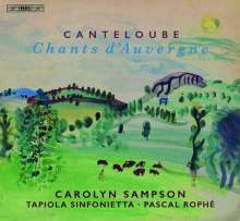 Joseph Canteloube (1879-1957): Lieder der Auvergne, Super Audio CD