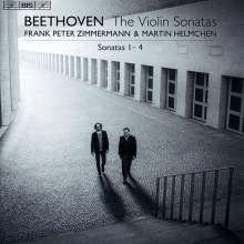 Ludwig van Beethoven (1770-1827): Violinsonaten Nr.1-4, Super Audio CD