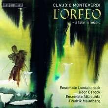 Claudio Monteverdi (1567-1643): L'Orfeo, 2 Super Audio CDs
