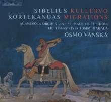 Olli Kortekangas (geb. 1955): Migrations für Mezzosopran, Chor & Orchester, 2 Super Audio CDs