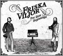Friska Viljor: For New Beginnings, CD
