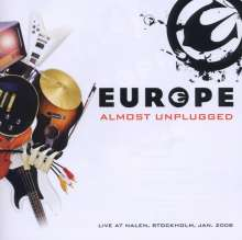 Europe: Almost Unplugged: Live At Nalen, Stockholm, 2008, CD