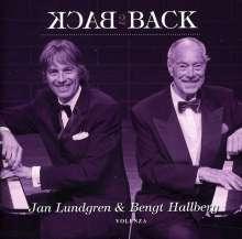 Bengt Hallberg & Jan Lundgren: Back To Back, CD