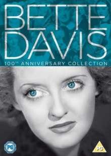Bette Davis 100th Anniversary Collection (UK Import mit deutscher Tonspur), 6 DVDs