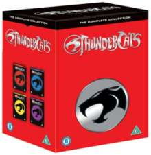 Thundercats - The Complete Collection (UK Import), 24 DVDs