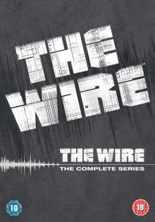 The Wire Season 1-5 (UK Import), 24 DVDs
