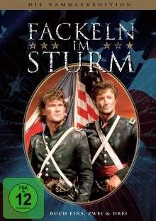 Fackeln im Sturm Buch 1-3 (Sammleredition/Gesamtausgabe), 8 DVDs