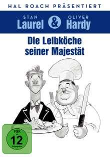 Laurel & Hardy: Die Leibköche seiner Majestät, DVD