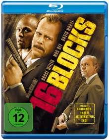 16 Blocks (Blu-ray), Blu-ray Disc