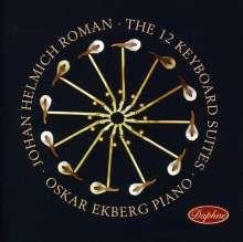 Johan Helmich Roman (1694-1758): Klaviersuiten Nr.1-12, CD