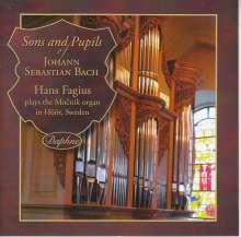 Hans Fagius - Sons and Pupils of Johann Sebastian Bach, CD