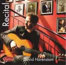David Härenstam - Recital, CD