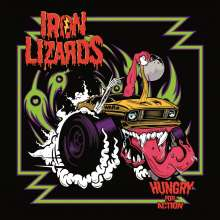 Iron Lizards: Hungry For Action (Purple Vinyl), LP