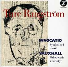 "Ture Rangström (1884-1947): Symphonie Nr.4 ""Invocatio"", CD"