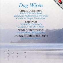 Dag Wiren (1905-1986): Violinkonzert op.23, CD