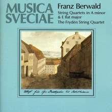 Franz Berwald (1796-1868): Streichquartette Es-Dur & a-moll, CD