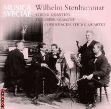 Wilhelm Stenhammar (1871-1927): Streichquartette Nr.1 & 2, CD